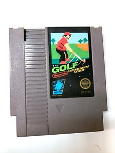 Golf - ORIGINAL NES Nintendo Game Tested + Working & Authentic!