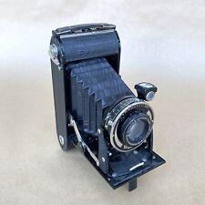 Voigtlander Bessa Vintage Folding Film Camera W/ Voigtar 11cm 1:4.5 Lens, NICE