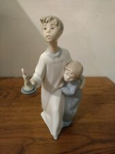 Lladro Porcelain Figurine, Grupo Ninos Camison (Boy In Nightshirt), #4874, w/box
