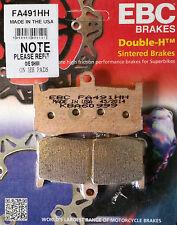 EBC/FA491HH Sintered Pads (Front) - Triumph Daytona 675 09-15 (monoblock radial)