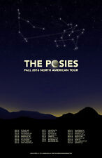 """THE POSIES """"FALL 2016 NORTH AMERICAN TOUR"""" CONCERT POSTER - Power Pop, Alt Rock"""