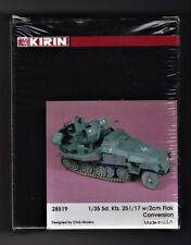 KIRIN SCALE MODEL 28519 - Sd.Kfz.251/17 w/2cm FLAK CONVERSION SET - 1/35 RESIN