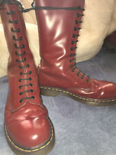Size 9 Cherry red 14 hole Doc Martens / Dr Marten Oxblood 14eye size 9UK