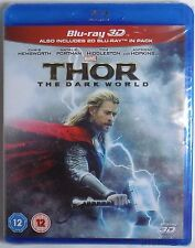 THOR: THE DARK WORLD Brand New 3D (and 2D) BLU-RAY release Marvel MCU Thor 2