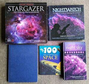 Stargazing, Night Sky, Space – BULK 5 books: Stargazer, Nightwatch, Space, NOVA