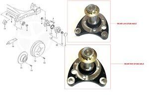 STUB AXLE REAR PAIR L/H & R/H FOR VW POLO GOLF 6N2 GTI MK1 MK2 MK3 1.4 1.6 1.8