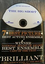 The Big Short DVD - For Your Consideration Edition