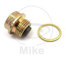 Magnetic Oil Drain Plug Bolt & Washer For Gilera Runner 200 VXR 2003