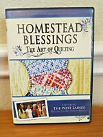 Homestead Blessings The Art of Quilting Quilt DVD