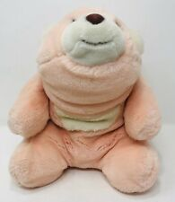 "Gund PInk Snuffles Bear #2167 13"" 1980 Vintage"