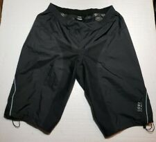 Gore Bike Wear Gore-Tex Paclite Shell Shorts Black Large