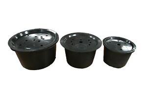 PE Becken mit GFK Deckel für Quellsteine Wasserspeier Zierbrunnen versch. Größen
