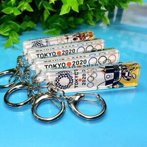 Tokyo Olympic 2020 Official Toy Miraitowa Someity Keychain Commemorative Item