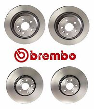 Volvo S60 S80 V70 XC70 2007-2017 Front & Rear Disc Brake Rotors Brembo Kit