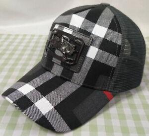 Burberry Cap Sport Baseball Hat outdoor Adjustable Men Women Style Gray
