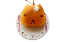 KAPIBARASAN Squishy Kawaii Pancake Rare NIC Tryworks Keychain Charm Squeeze Toy