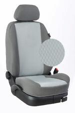 Renault Master ab 2010 Maß Sitzbezüge Vordersitze 2-Sitzer: New-York/grau