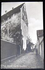 Sweden~1920's VISBY. Gammalt hus fran Hansatiden~RPPC