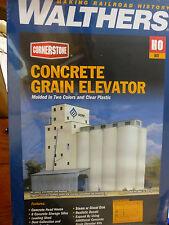 Walthers Cornerstone HO #3022 ADM Grain Elevator (kit) We Combine Ship :)