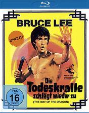 § Blu-ray * BRUCE LEE - DIE TODESKRALLE SCHLÄGT WIEDER ZU (UNCUT) # NEU OVP