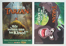 1x Tarzan Vorankündigung 1999 ERB & Disney von Toysrus & RTL Motiv 1