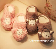Alopaca Llama Animal Alpaca Berber Fleece Slipper Warm Pink Grey 2 choice New