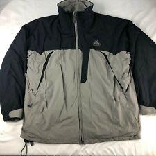 VTG NIKE ACG taupe/black 2 layer thermal MENS L JACKET *RARE* coat brown gray