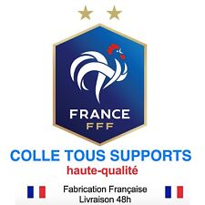 Stickers autocollant FRANCE FFF foot football, plusieurs tailles, super prix