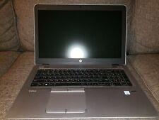 Used HP Elitebook 850 G3 i7 6600U, 16 GB RAM, 256 GB M.2 NVMe SSD - READ