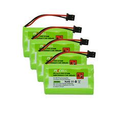4 Cordless Home Phone Battery Replacement for Uniden BT-446 BT-1005 BT598 BT446