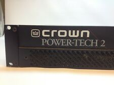 Crown Amp Power-Tech 2 In excellent condition