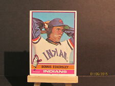 1976 Topps #98 Dennis Eckersley RC DHC