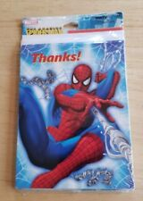 Marvel The Amazing Spiderman Spider-Man Party Express Hallmark Thank You Cards