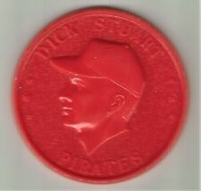 1960 Armour Coin - Dick Stuart - Red -  Gem Mint!