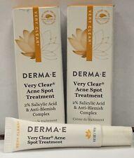 Derma-E Very Clear Acne Spot Treatment 1/2oz (3pk)