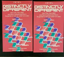 Zotos Distinctly Different, Non-Thio, Non-GMT Wave, Tinted Formula. Lot of 2