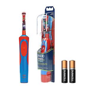 Braun Oral-B Stages Power Kids Batterie-Zahnbürste Kinder Disney CARS