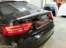 Audi A5 2007-2015 Coupe 2D rear Spoiler RS S Sline s-Line Trunk Lip S5 abt RS5