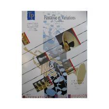 ARBAN J. B. Fantaisie et Variations Bellini Trompette Cornet 1994 partition shee