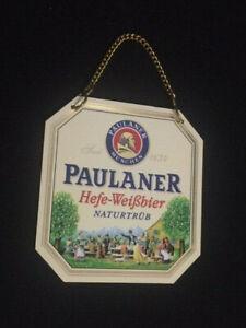 Tap Plate Paulaner Hefe-Weißbier Unfiltered 314