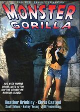 MONSTER GORILLA! Homage to old gorilla movies! HEATHER BRINKLEY, CHRIS CASTEEL