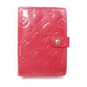 Louis Vuitton LV Diary Cover Agenda PMpretty Pinks Vernis 1606378