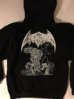 CREMATORY Hoodie HOODED Sweat shirt Death Metal Carcass Autopsy Gorement  S- XL