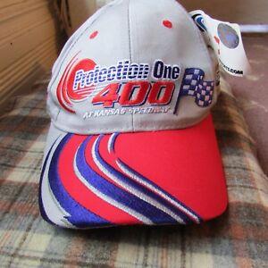 Nascar 2001 Hat Protection One at Kansas Speedway Adult OSFA