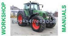 FENDT Tractor Farmer Favorit Vario Workshop Manuals