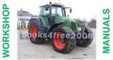 FENDT Tractor Farmer Favorit Vario Workshop Manuals