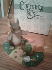 """Charming Tails 97/12 """"A Growing Friendship"""" In Box Fitz & Floyd ~ Mint"""