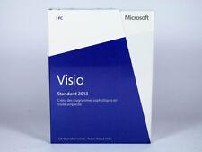 Visio 2013 Standard 32-Bit, x64 Vollversion, Vollversion, français - D86-04740