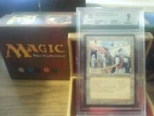 Arabian Nights Bazaar of Baghdad BGS 9 Mint Magic The Gathering MTG 1993 Wow!