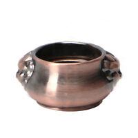 Vintage Copper Incense Coil Burner Censer Aromatherapy Pot Mini Lion Ear Pots